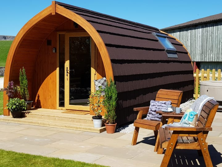 Ingleborough Glamping Pod - Ribblesdale Pods