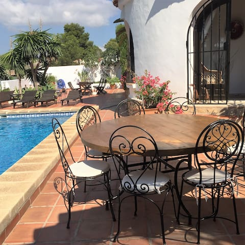 cozy ground floor apartment with private pool - Teulada - Pis