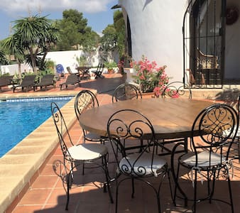 cozy ground floor apartment with private pool - Teulada