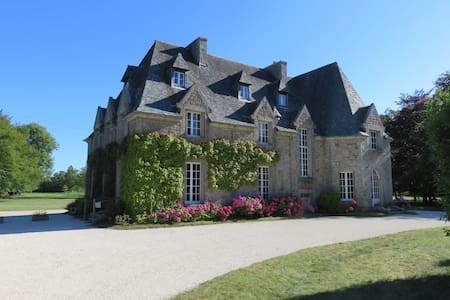 Granite mansion close to sandy beach - Tréflez