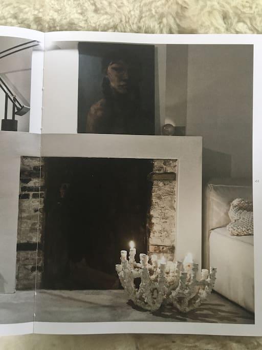 Detail woonkamer (publicatie Eej! Magazine)
