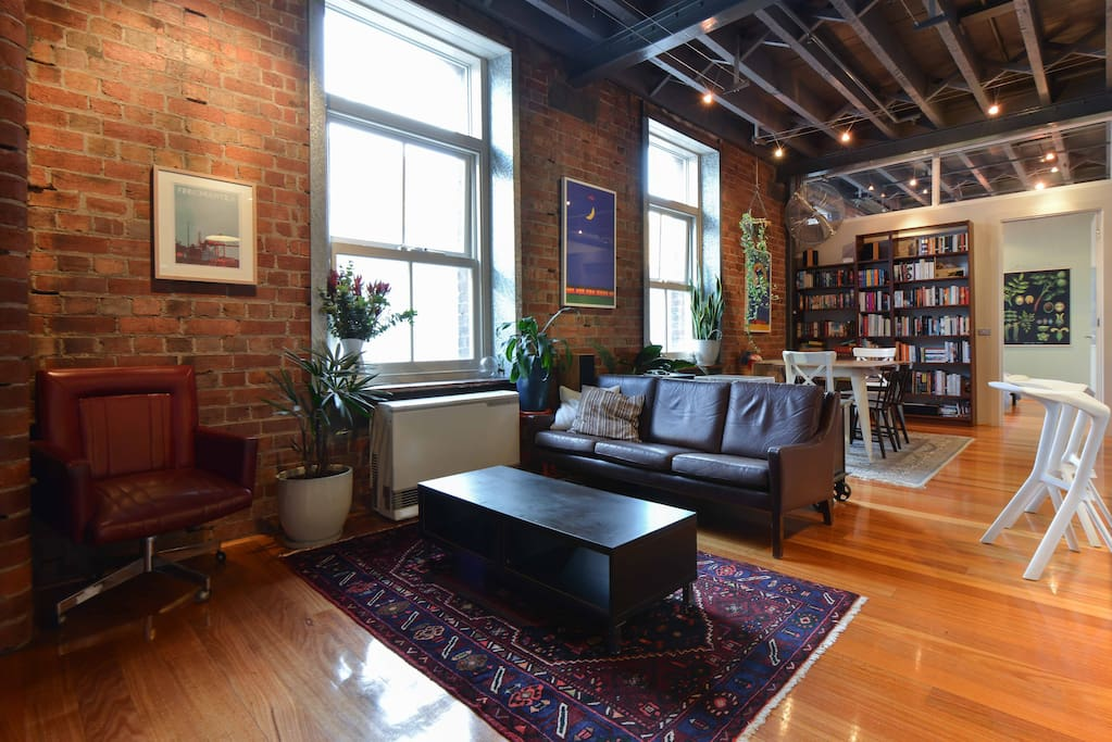 Gorgeous room in converted factory - Apartments for Rent ...