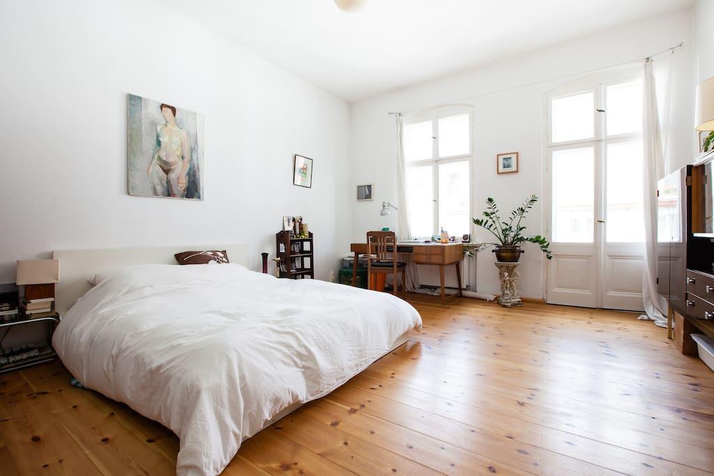 2nd sleeping room, double bed