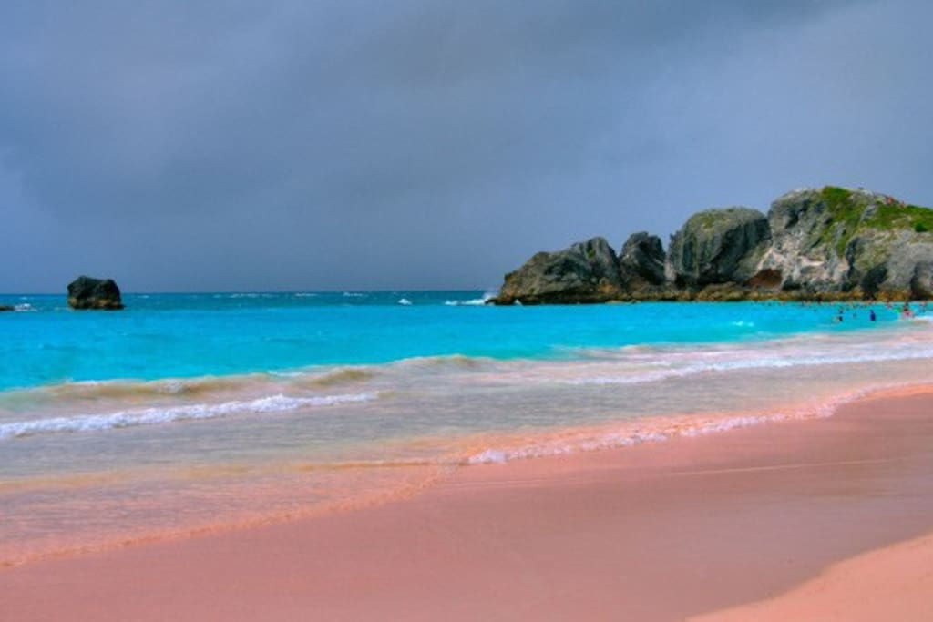 Horseshoe Bay Beach is one of a chain of South Shore beaches, ranked within the world's top ten
