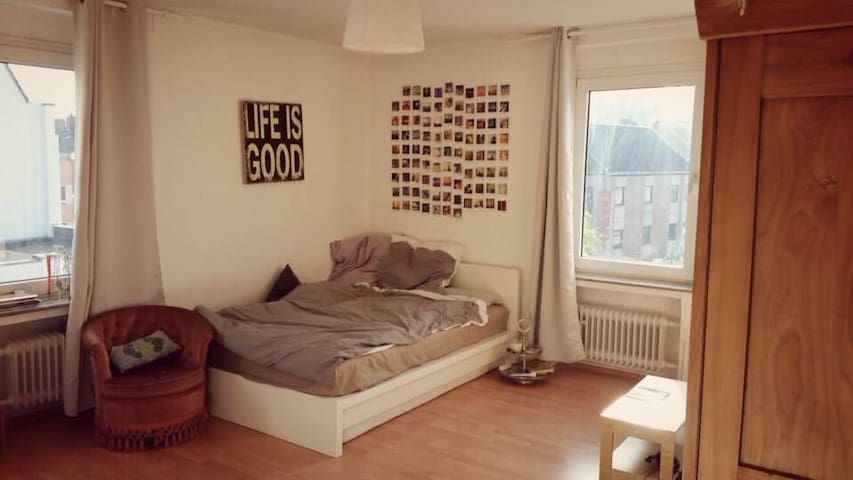 Beautiful room in the city centre of Kleve - Kleve - Departamento