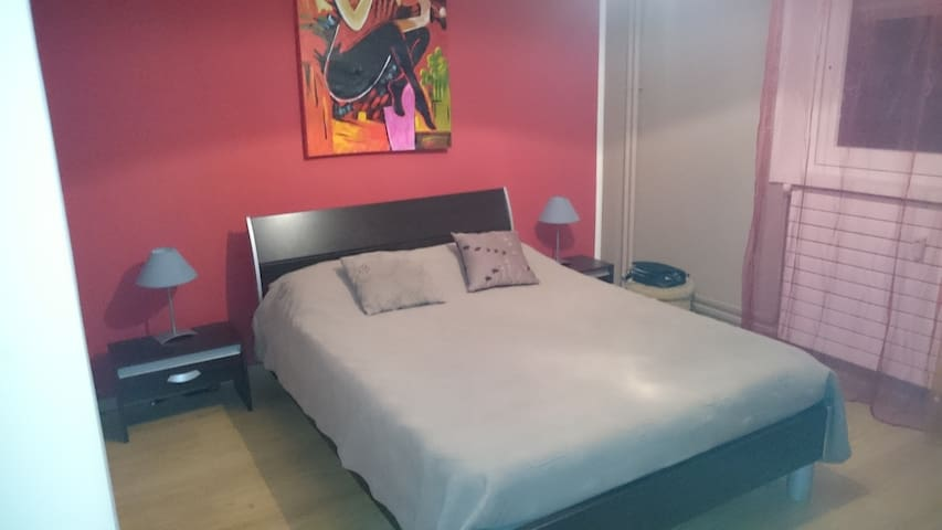 """ EURO 2016 "" Apartment 70m2 (5 minutes Stadium) - Saint-Étienne - Apartmen"