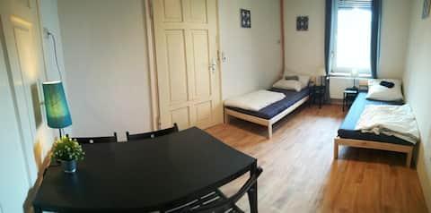 75m² 3-zimmer wohnkomplex in Roßwein!