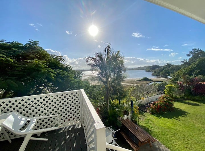 Entire unit with water views in East Ballina