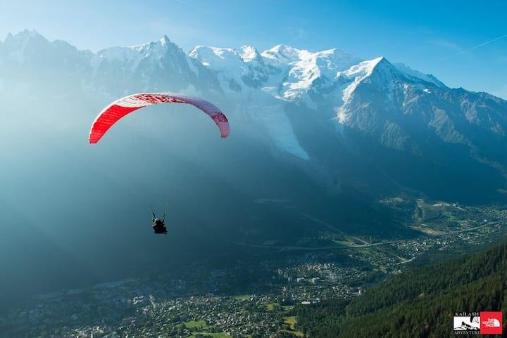 La loge d'Areu : T2 de 31 m2 au Pays du Mont Blanc