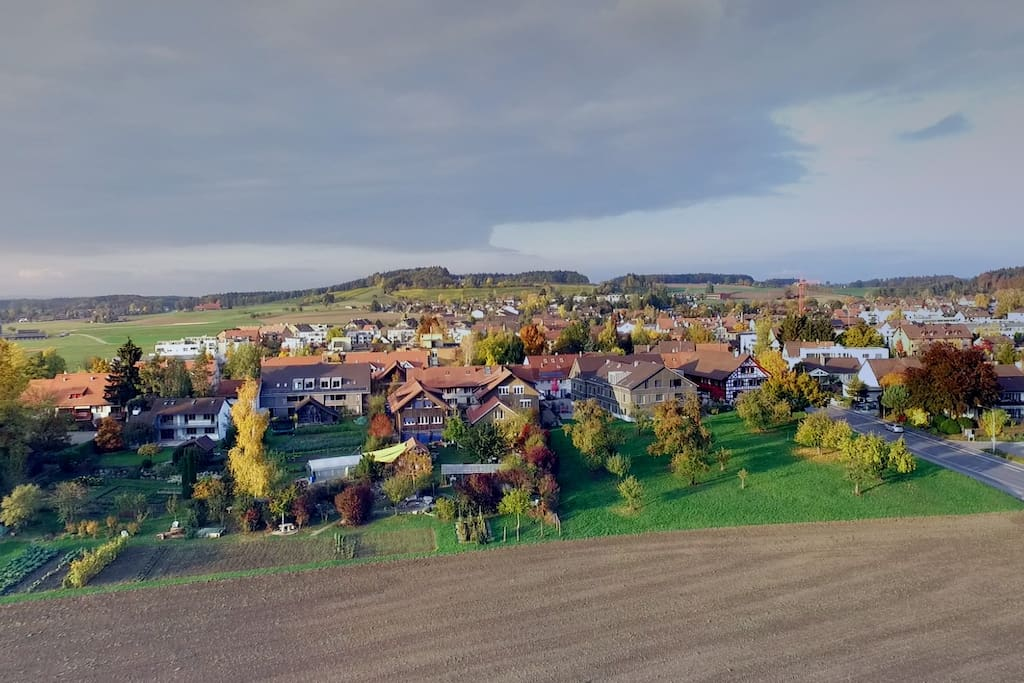 Birdview of the village