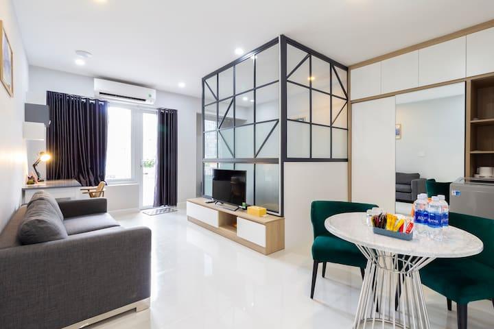 cozy&fine 302B apartment at Saigon center dist1