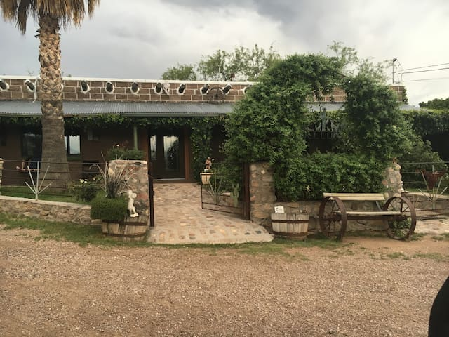 Ranch house at Rancho la Reforma - Rio Rico