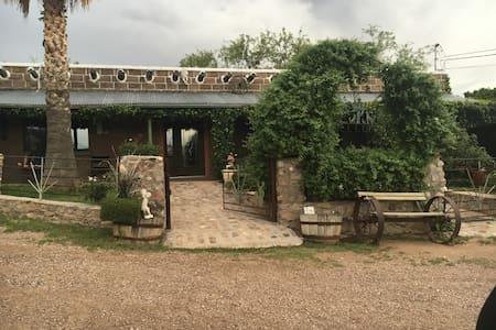 Ranch house at Rancho la Reforma - Rio Rico