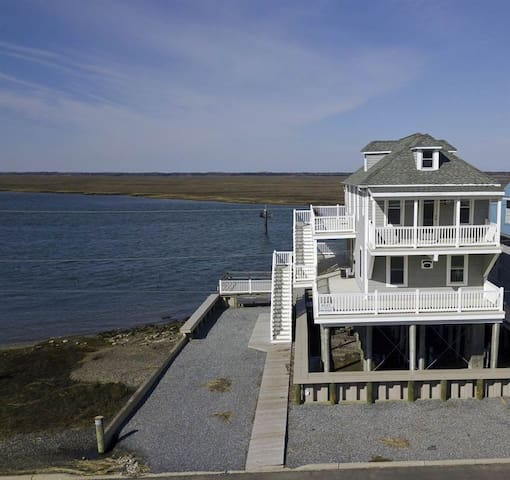 House on the Bay and Just 3 Blocks from the Beach