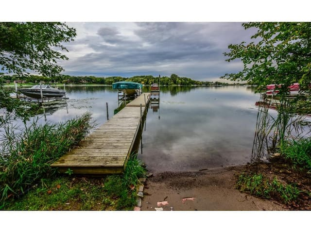 Lakefront Home on Fish Lake in Maple Grove, MN - Maple Grove - Casa