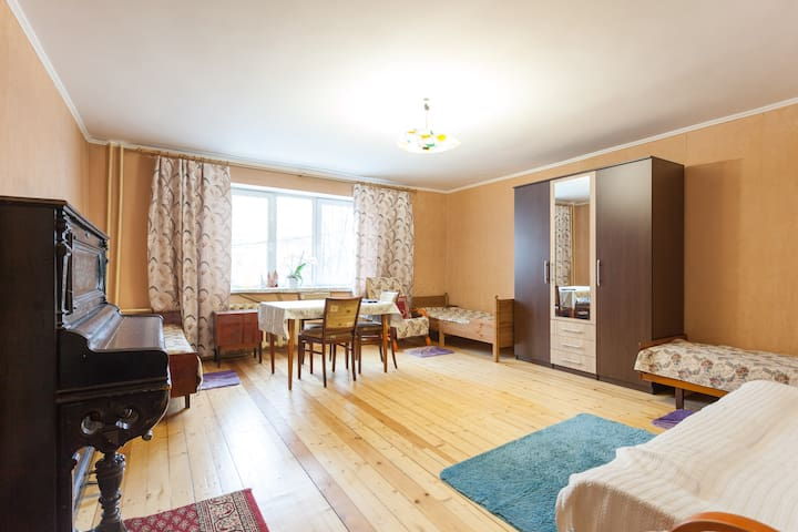 One-room apartment in the center