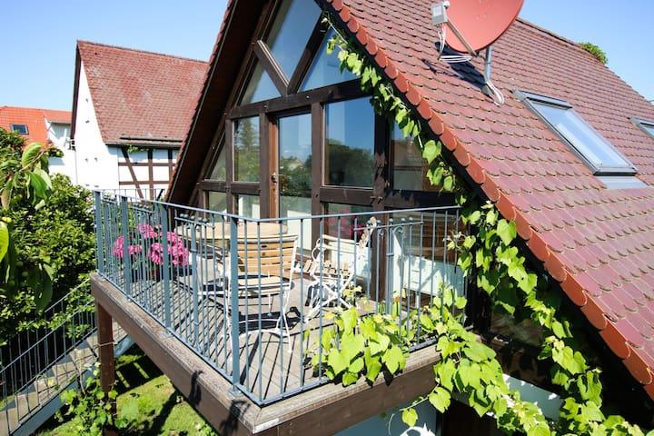 Landpension Bocka (Windischleuba/OT Bocka) - LOH06556, Ferienwohnung 2, Balkon, 1 Schlafzimmer, max. 4 Personen