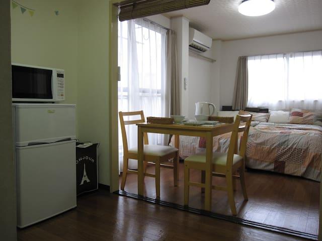 #Very convenient!Free mobile Wi-Fi! - Miyakojima-ku, Ōsaka-shi - Apartamento