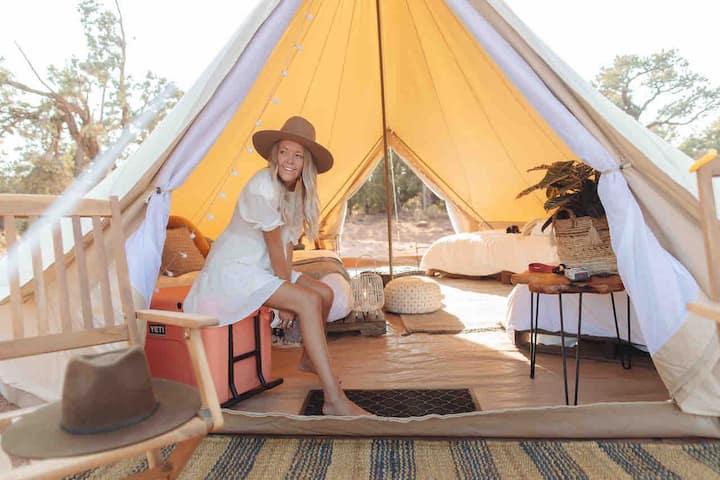 Glamping tent2 - Zion, Utah