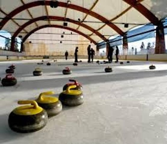 AREA ACTIVITIES: The Bill Collier Community Ice Arena at Running-Y is just one of many options for adults and children alike to enjoy winter season activities.