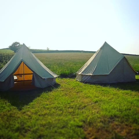 Glamping Bell Tents - Hen Weekends, Large Groups