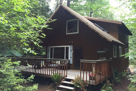 Cabin in Woods on Harstine Island - Shelton