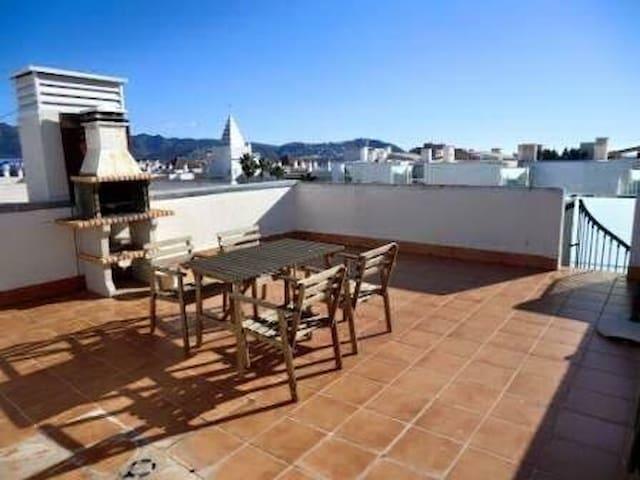 Apartamento con terraza(bbq) - Roses - Pis