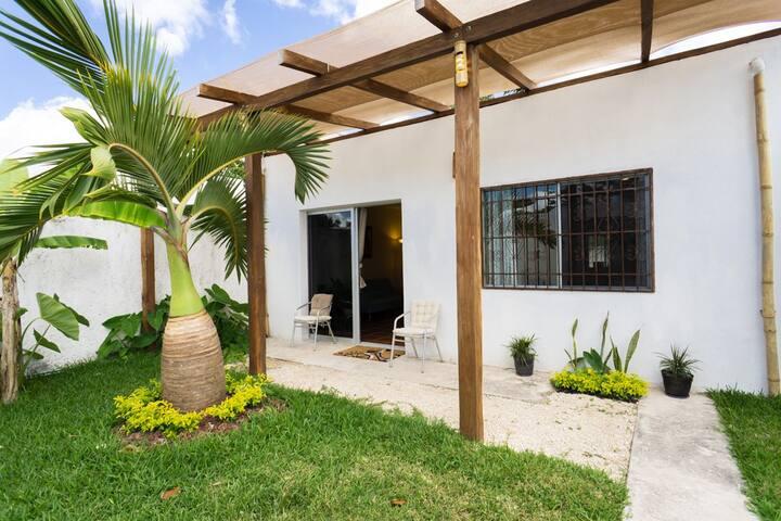 Casa Las Palmas Mahahual, comfort  and privacy