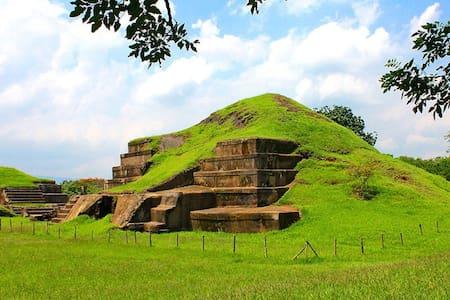 Conoce sitios arqueológicos en El Salvador