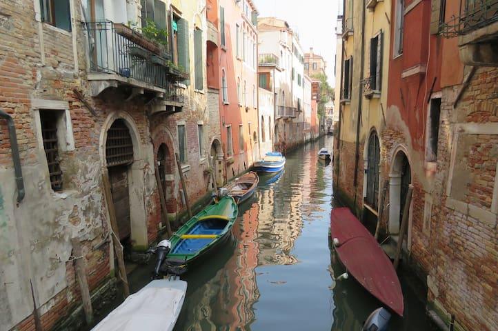 Stanza doppia con bagno e giardino a Venezia - Venezia - Bed & Breakfast