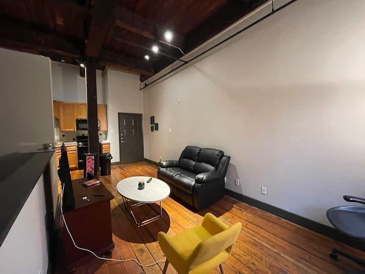 The basement! (Downtown Loft)