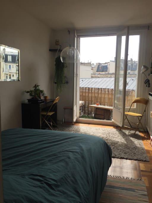Appartement avec balcons entre nation et picpus for Appartement avec balcon paris