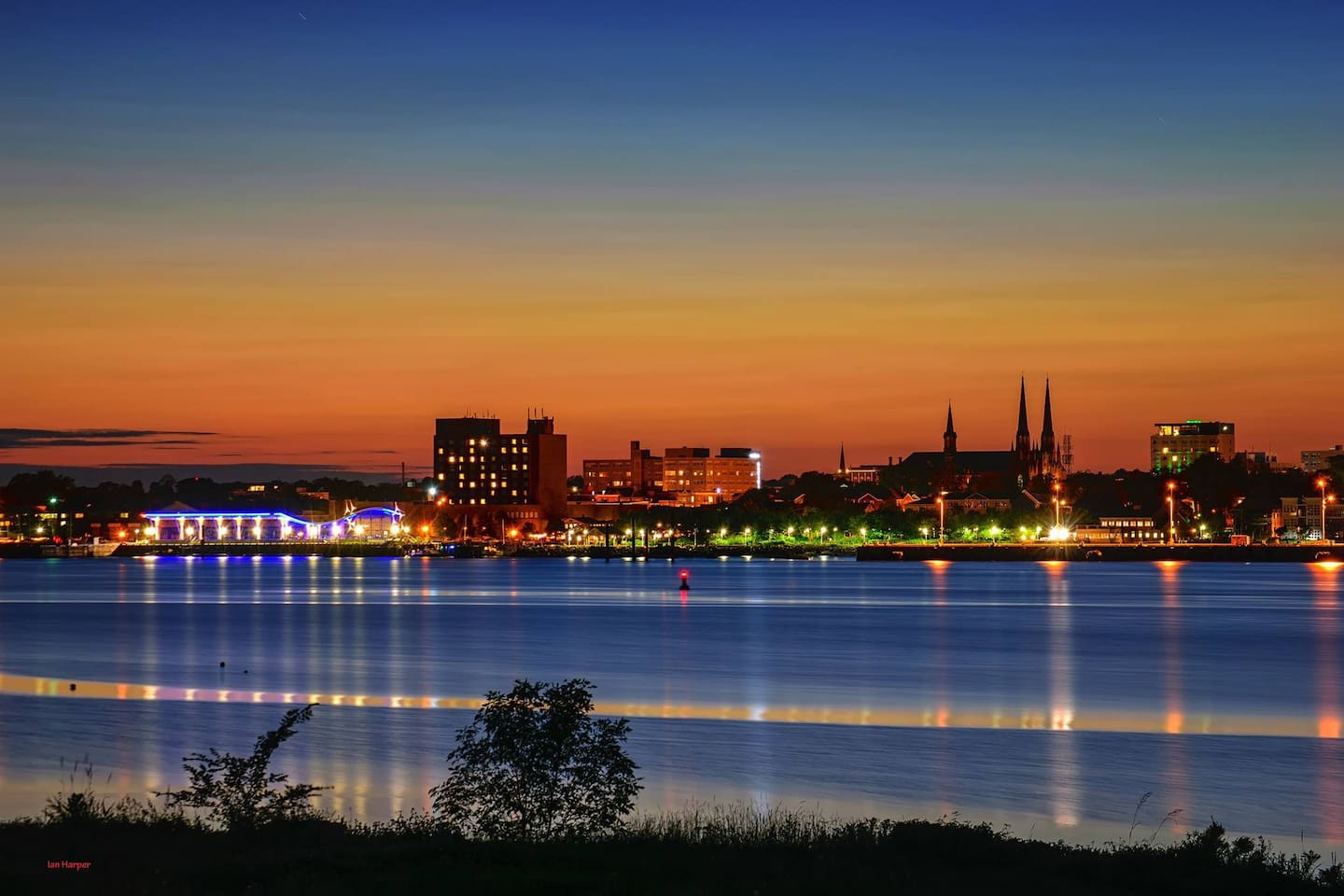 This is Your Harbour View.  City of Charlottetown