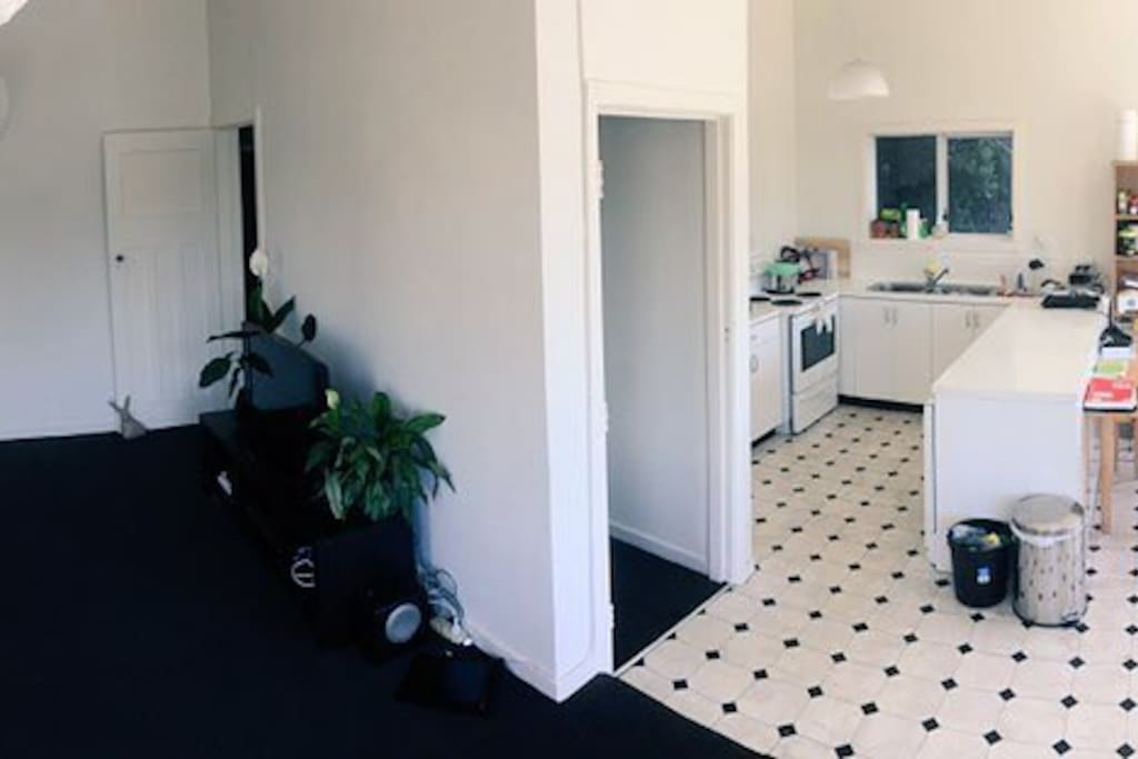 Kitchen and Lounge space