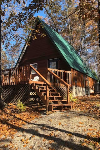 New Listing! Tucked-A-Way Cabin In The Woods