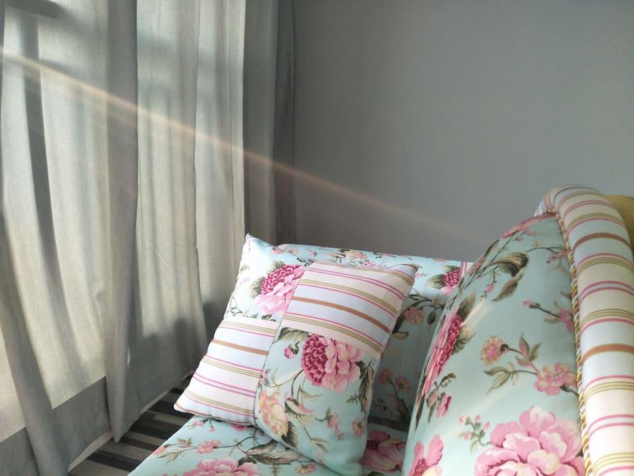 【#自然里#】105㎡公寓温馨北欧风/贵妃躺椅享受阳光