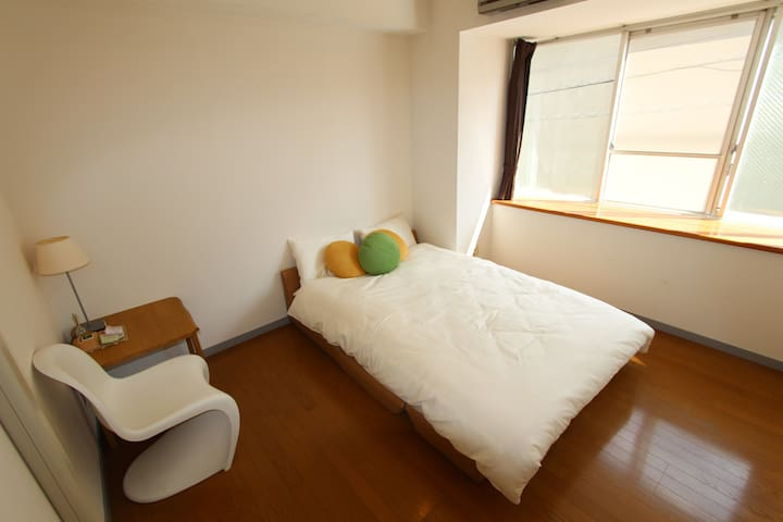 Extremely Huge & Cozy RoomC! Free Bike & Free Wifi - Higashi-ku Hiroshima-city - Apartment