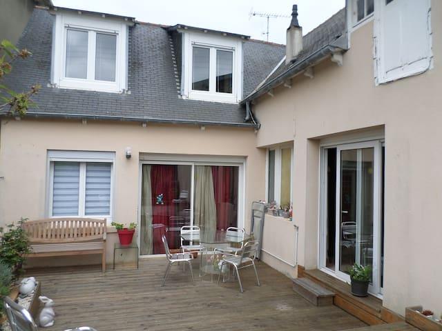 maison proche de la plage, claire, cosy, - Saint-Quay-Portrieux - Casa adossada