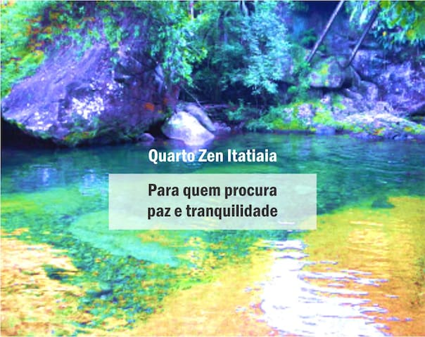 Quarto Zen Itatiaia RJ - Itatiaia - Maison