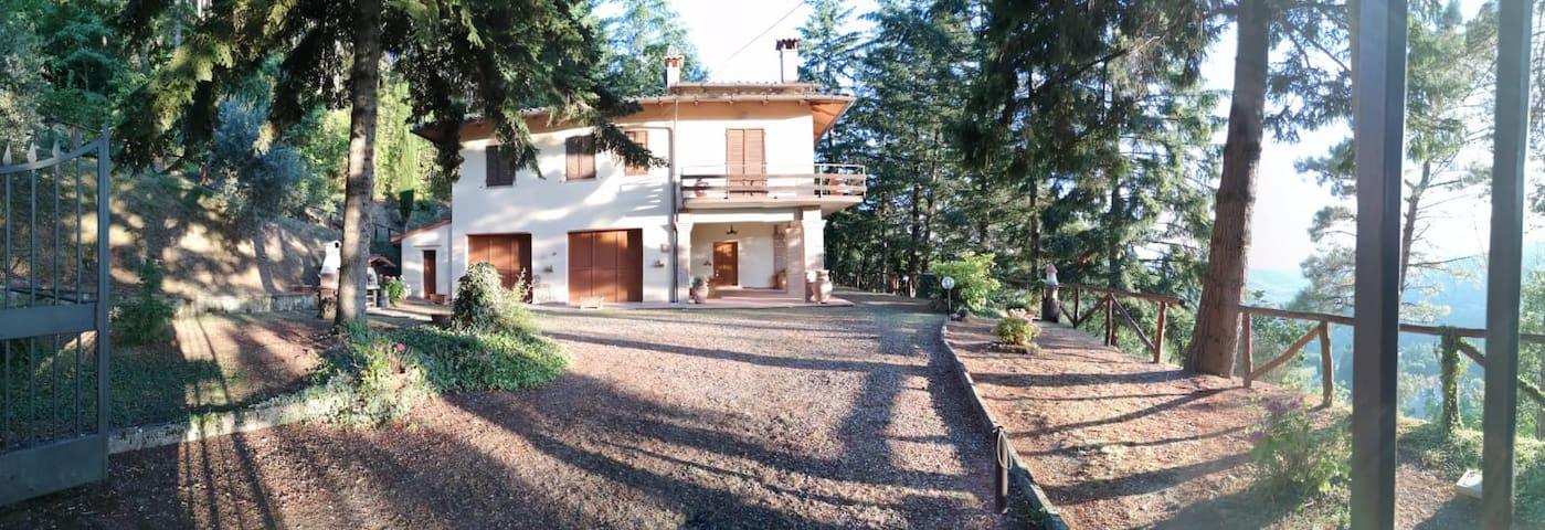 Villa Bruna Casa con vista a Chitignano