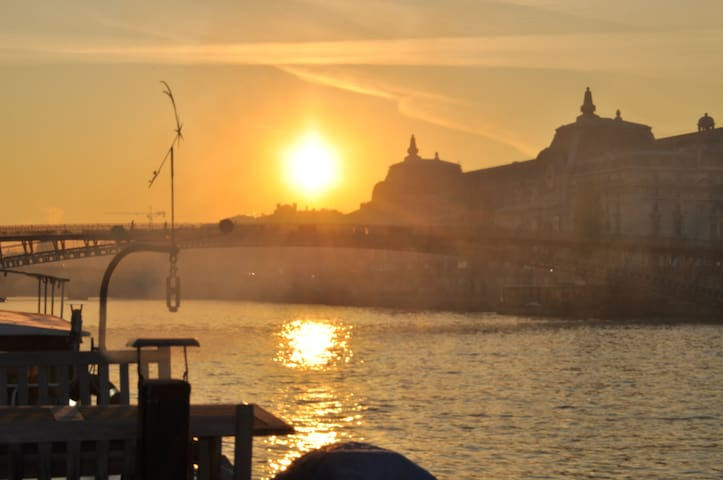 Romantic Houseboat in the heart of Paris - París - Barco