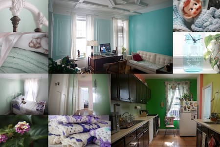 Adorable Crown Heights Home Away From Home - Brooklyn - Apartment