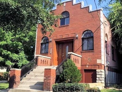 Private 1br apt near OTR/downtown Cincinnati