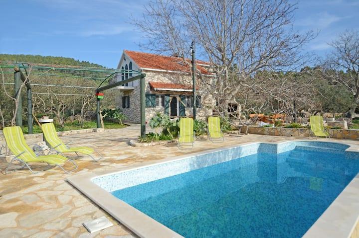 Korčula's country side villa