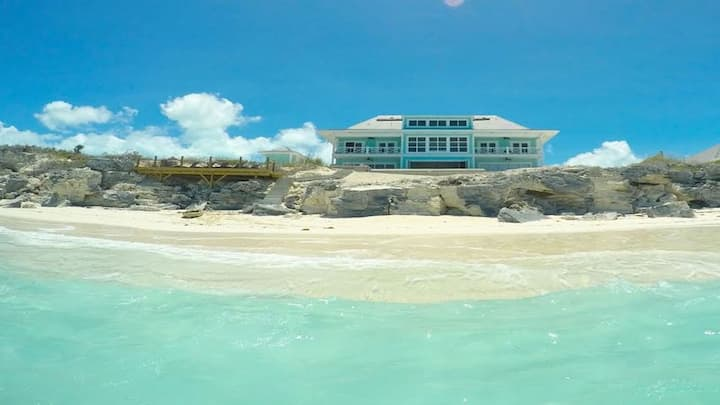 Shades of Blue - Beach Home in Exuma Bahamas