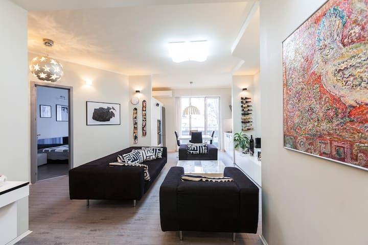 ⚡Modern apartment in Vake ⭐⭐⭐⭐⭐