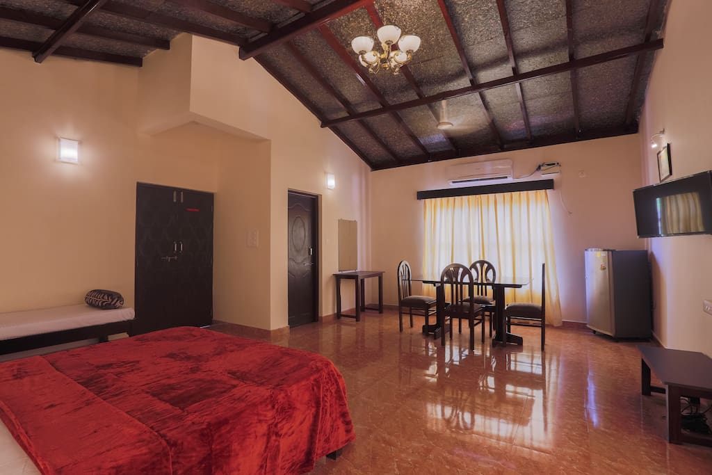 LARGE ROOM WITH HIGH CEILING