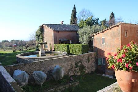 Villa antica nei Castelli romani - Grottaferrata - Rumah