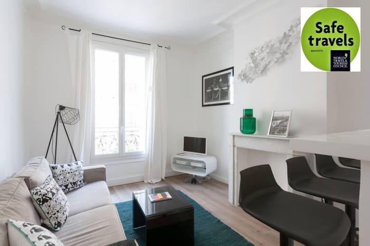 Idéal et grand confort Paris Ouest -Porte Maillot