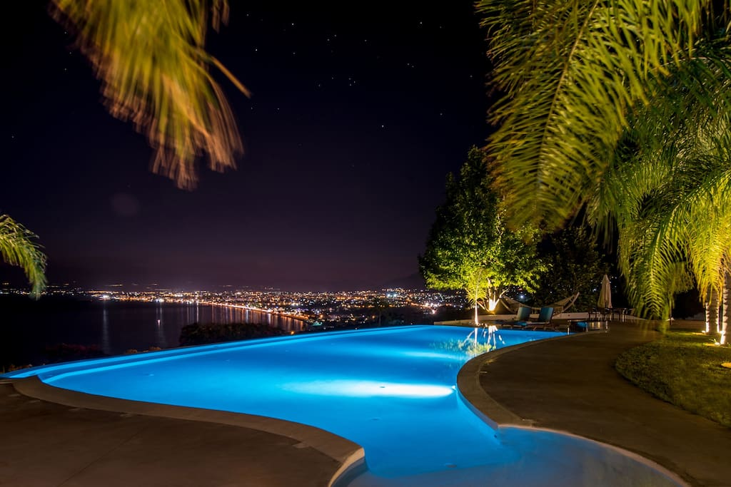 Infinity Pool with city view